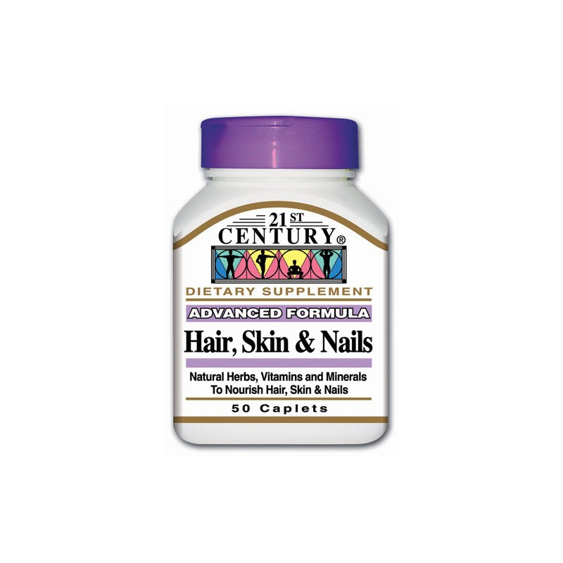 Advanced Formula Hair, Skin & Nails, 50 Cplts