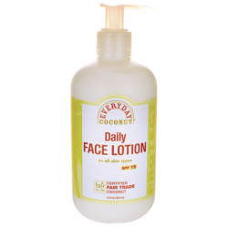 Daily Face Lotion All Skin Types SPF 15, 12 fl oz Lotion