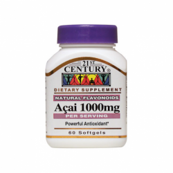Acai Berry Extract, 1,000 mg 60 Sgels