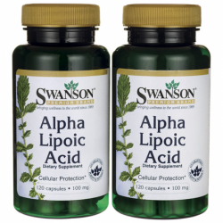 Alpha Lipoic Acid, 100 mg 240 Caps