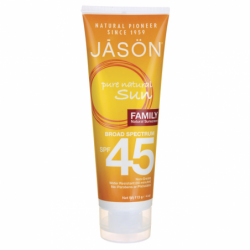 Pure Natural Sun Natural Sunscreen SPF 45  Family, 4 oz (113 grams) Lotion