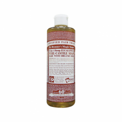 Pure Castile Liquid Soap Eucalyptus, 16 oz Liquid