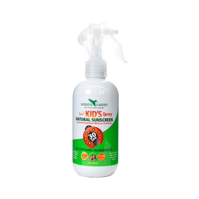 Kids Spray Natural Sunscreen  SPF 30, 8 oz Liquid