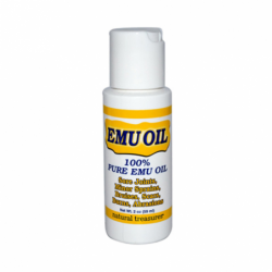 100 Pure Emu Oil, 2 fl oz (59 mL) Liquid