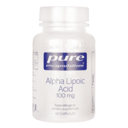 Alpha Lipoic Acid, 100 mg 60 Veg Caps