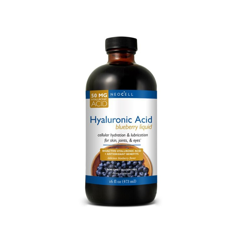 Hyaluronic Acid Blueberry Liquid, 16 fl oz Liquid