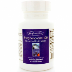 Pregnenolone 100 Micronized Lipid Matrix, 100 mg 60 Tabs