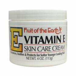 Vitamin E Skin Care Cream, 4 oz Cream