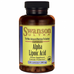 Alpha Lipoic Acid, 300 mg 120 Caps