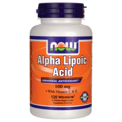 Alpha Lipoic Acid, 100 mg 120 Veg Caps