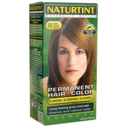 Permanent Hair Color  6G Dark Golden Blonde, 1 Box