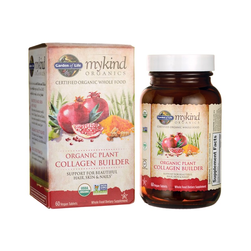 mykind organic plant collagen builder 60 vegan tabs. Black Bedroom Furniture Sets. Home Design Ideas