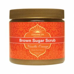 Brown Sugar Scrub  Vanilla Orange, 16 oz Scrub