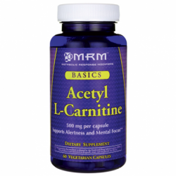 Acetyl LCarnitine, 500 mg 60 Veg Caps