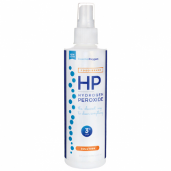 Hydrogen Peroxide Solution 3 Food Grade, 8 fl oz (236 mL) Liquid