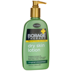 Borage Therapy Dry Skin Lotion  Original Unscented, 8 fl oz (238 mL) Lotion