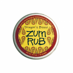 Zum Rub Moisturizer Dragons Blood, 2.5 oz Cream
