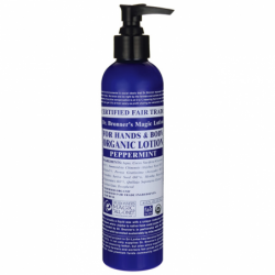 Magic Organic Lotion for Hands & Body  Peppermint, 8 fl oz Lotion