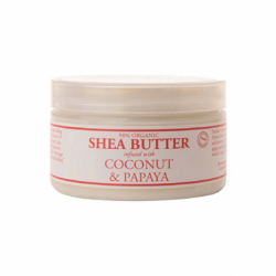 Shea Butter Infused with Coconut & Papaya, 4 oz Cream
