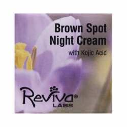Brown Spot Night Cream with Kojic Acid, 1 oz Cream