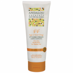 Smooth Hold Styling Cream  Argan & Sweet Orange, 6.8 fl oz (200 mL) Cream