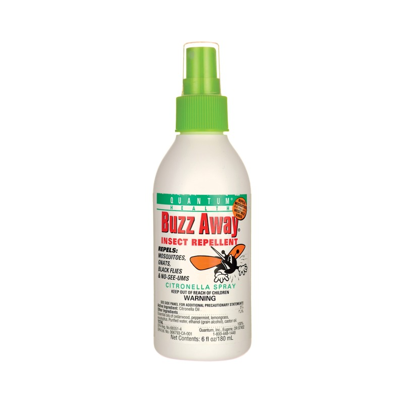 Buzz Away Citronella Spray Insect Repellent, 6 fl oz (180 mL) Liquid