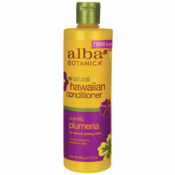 Natural Hawaiian Conditioner  Colorific Plumeria, 12 oz (340 grams) Liquid