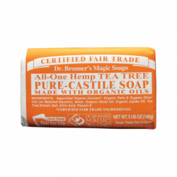 Pure Castile Bar Soap Tea Tree, 5 oz Bar(s)