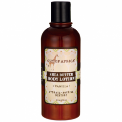 100 Pure Shea Butter Body Lotion  Vanilla, 9 fl oz Lotion
