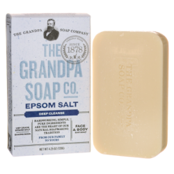 Epsom Salt Soap, 4.25 oz (120 grams) Bar(s)