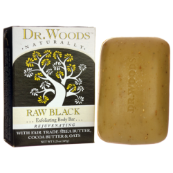 Raw Black Exfoliating Body Bar, 5.25 oz (149 grams) Bar(s)