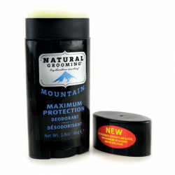 Natural Grooming Deodorant  Mountain, 2.8 oz Stick(s)