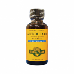Calendula Oil  For External Use, 1 fl oz (29.6 mL) Liquid
