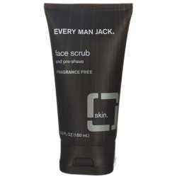 Face Scrub and PreShave Fragrance Free, 5 fl oz Scrub