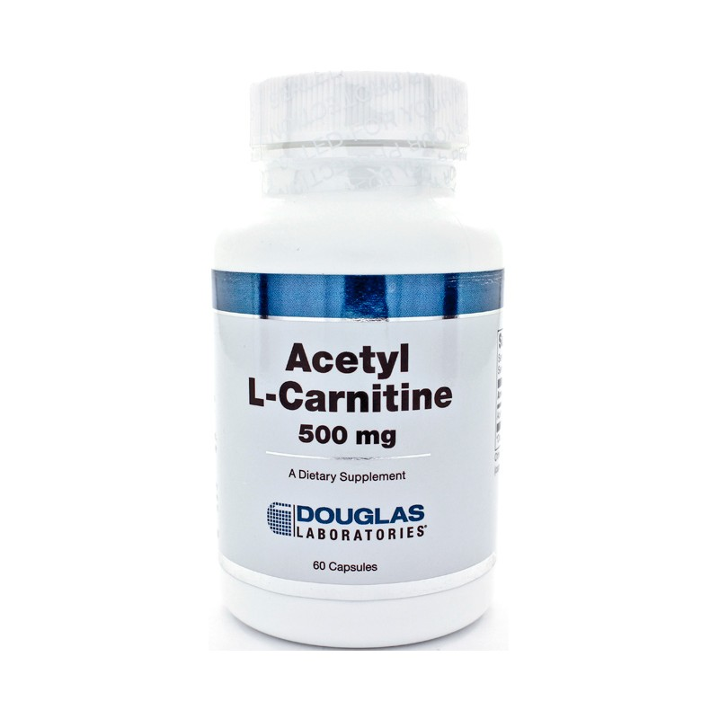 Acetyl LCarnitine, 500 mg 60 Caps