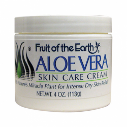 Aloe Vera Skin Care Cream, 4 oz Cream