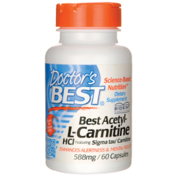 Best AcetylLCarnitine HCl, 588 mg 60 Caps