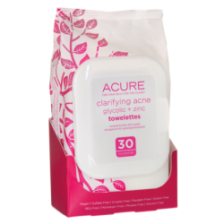 Clarifying Acne Towelettes, 30 Ct