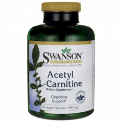 Acetyl LCarnitine, 500 mg 240 Veg Caps