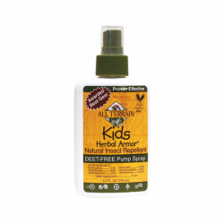 Kids Herbal Armor Insect Repellent Spray, 4 fl oz (120 mL) Liquid