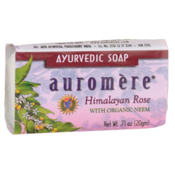 Ayurvedic Soap  Himalayan Rose, 0.71 oz (20 grams) Bar(s)