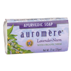 Ayurvedic Soap  LavenderNeem, 0.71 oz (20 grams) Bar(s)