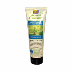 Moisturizing Cream Shave  Peppermint, 8 oz (227 grams) Cream