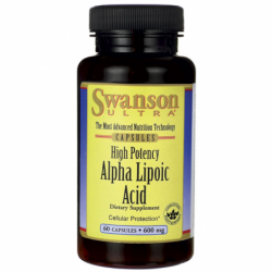 Alpha Lipoic Acid, 600 mg 60 Caps