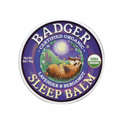 Organic Sleep Balm Lavender and Bergamot, 2 oz Balm