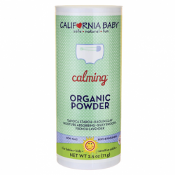 Calming Organic Powder, 2.5 oz Pwdr