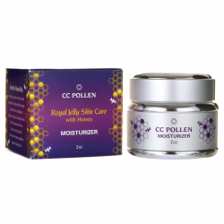 Royal Jelly Skin Care with Honey  Moisturizer, 2 oz Cream