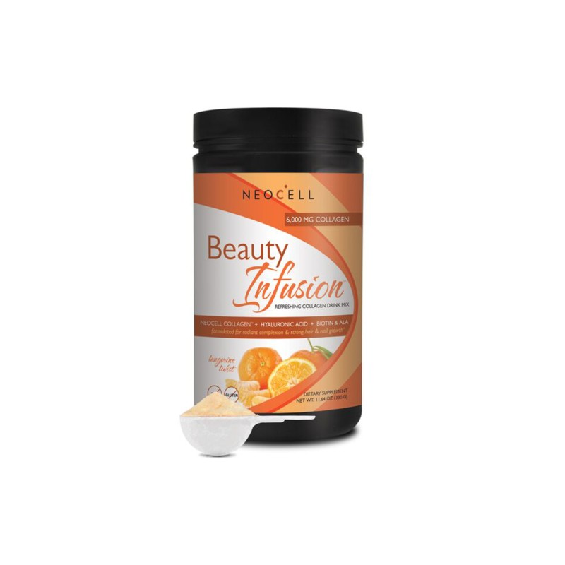 Beauty Infusion Collagen Drink Mix  Tangerine Twist, 11.64 oz (330 grams) Pwdr