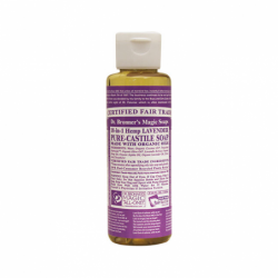 Pure Castile Liquid Soap Lavender, 4 fl oz Liquid