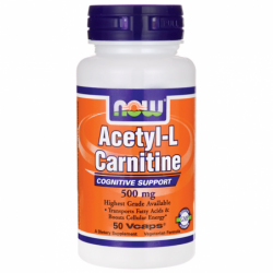 Acetyl LCarnitine, 500 mg 50 Vcaps